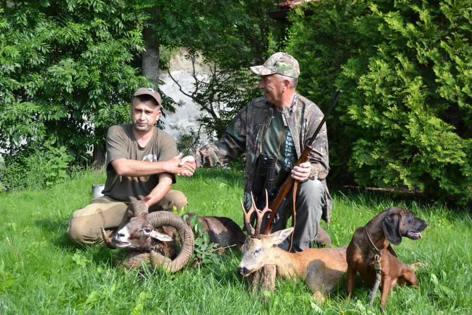 Mouflon hunting in Bulgaria - Bukovetz
